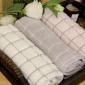 [宜秀]�棉雅格方巾�胗�合茨�小毛巾童巾 柔�小面巾�和�毛巾