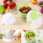 果蔬�水器 �I一送一送沙拉切菜器 抖音同款蔬菜甩干器二合一